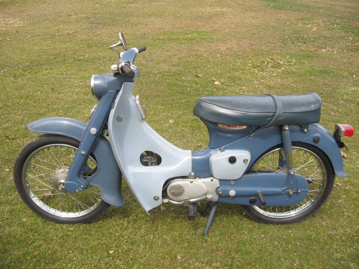 1964 honda ca100 c100 cub 50 push-rod engine | collectors ... 1964 honda 50 engine diagram #2