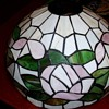 leaded glass lampshade ?