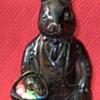 Bronze Easter Bunny With Basket