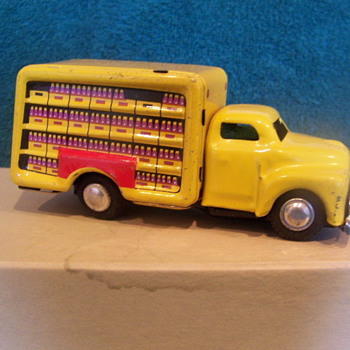 "1950's - 4"" Japan Friction Coca-Cola truck - Coca-Cola"