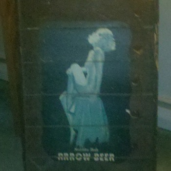 Vintage Arrow Beer sign  - Breweriana