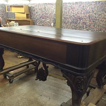 1870 square grand piano