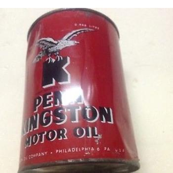 Kingston Penn Oil Qt - Advertising