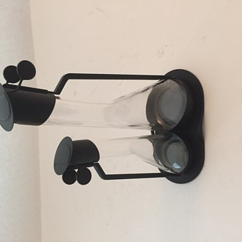 Very Rare black Achilli Castiglioni Cruet Set  - Kitchen