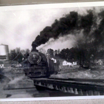 Photograph of  a Train  - Photographs