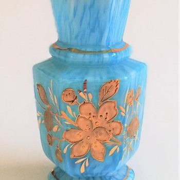 Welz Mini-Hexagonal Vase - Art Glass