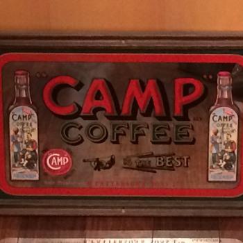 Vintage Advertising Framed Mirror Signs - Advertising