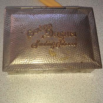 golden dream smoking tobacco - Tobacciana