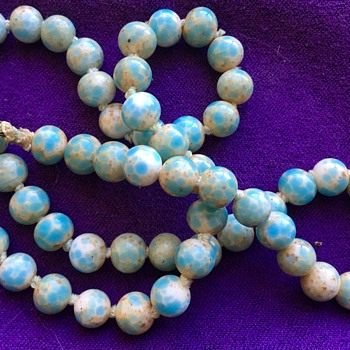 Light Blue Stone Strand Necklace Larimar? - Fine Jewelry