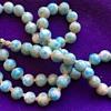 Light Blue Stone Strand Necklace Larimar?