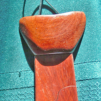 Wooden Tie from 1979  - Accessories