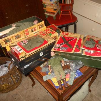 GI Joe 40th Anniversary Set Spare Parts Etc - Toys