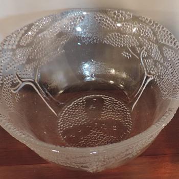 Neat Beaded tree bowl