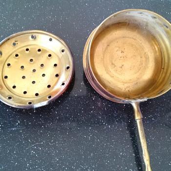 Antique ELPEC Lloyd Pascal Co Copper Brass Bed Warmer Deco Handle ENGLAND