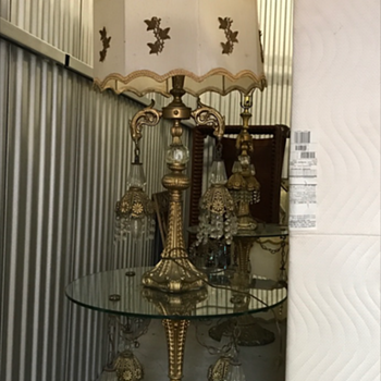 huge table lamps - Lamps