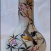 Sweet Little Harrach Bird Vase
