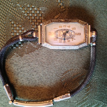 Woman's vintage Gruen wristwatch