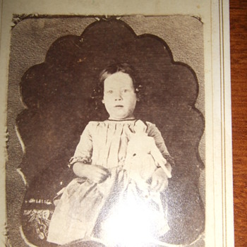 CDV of an earlier daguerreotype