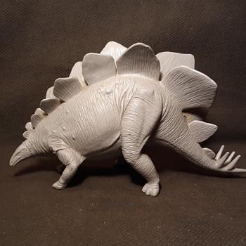 Marx Toys Flintstones Hunting Party Stegosaurus 1960s - Toys
