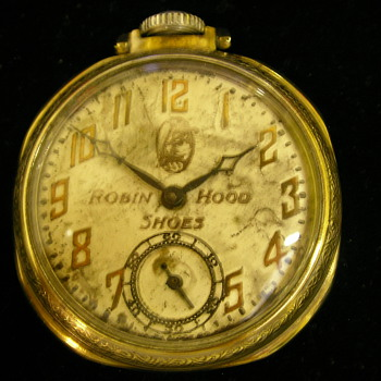 1929 Robin Hood Shoes Pocket Watch - Pocket Watches