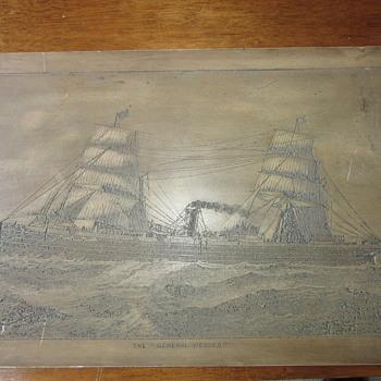Russel & Richardson St Boston ship carving?? - Fine Art
