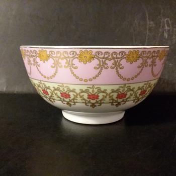 Royal Porcelain 24k decorated bowl - Pottery