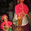 Cute pair of vintage elves