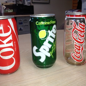 "Plastic Coca-Cola and Sprite ""cans""- experimental? - Coca-Cola"