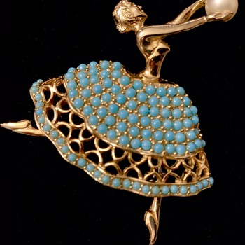 Pennino Ballerina - Costume Jewelry
