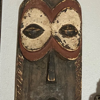 I found a new African Mask for my 'Salon'! - Fine Art
