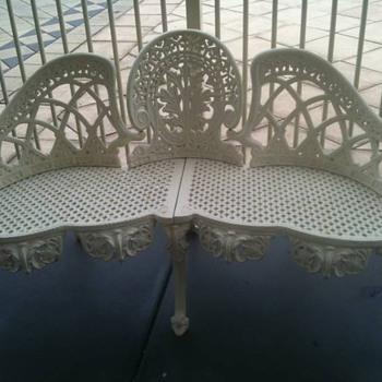 Cast Iron Bench - Furniture