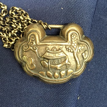 Chinese Locket or Padlock Necklace?  UPDATED PHOTOS - Fine Jewelry