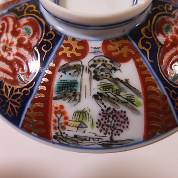 Small lid for a small bowl - Asian