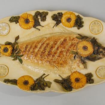 Chelsea Keramic Fish Platter by Hugh Robertson - Pottery