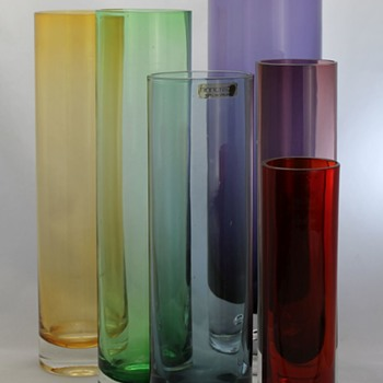 The straight up and down - Art Glass