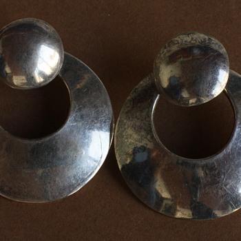 Mexican silver earrings - Fine Jewelry