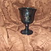 Carnival Glass Goblet