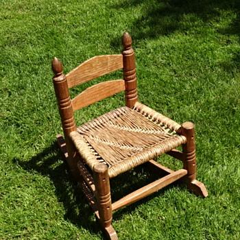 Little Vintage Rocking Chair