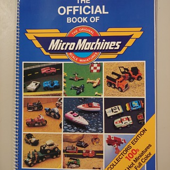 The Official Book of MicroMachines - Books