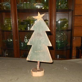 Folk Art Christmas Tree and Friends