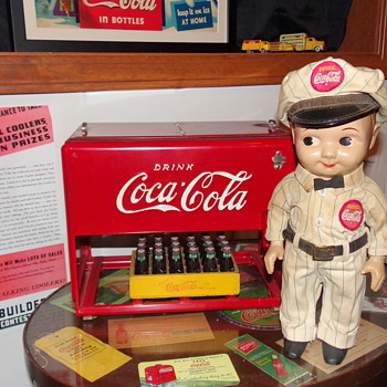 1950's Coca-Cola Buddy Lee Doll - Coca-Cola