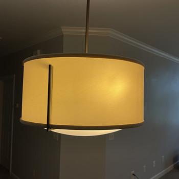 Vintage hanging kitchen light  - Lamps