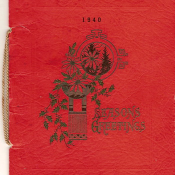 1940 Christmas Dinner for the Troops/Company - Military and Wartime