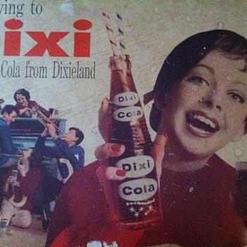 Dixi Cola Sign