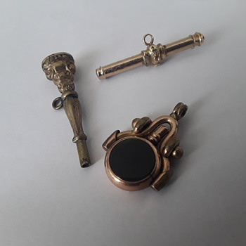 3 x more pocket watch keys  - Pocket Watches