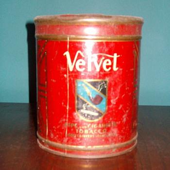 """""""Velvet"""" Tobacco Can - Tobacciana"""