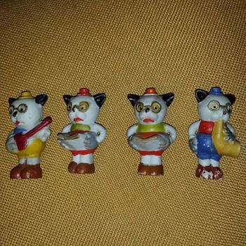 "Japan ""Bonzo"" figurines - ??? - Animals"