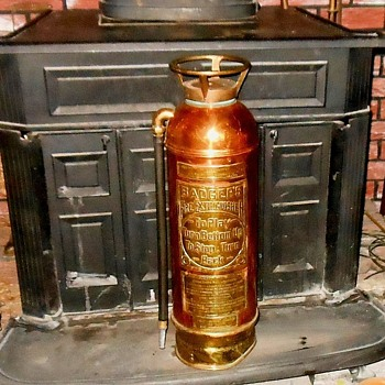 Fire Extinguisher Friday Vintage Badger Copper and Brass Fire Extinguisher - Firefighting