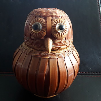 Wicker  Owl - Animals