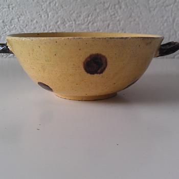 My Small Quake (Quaich) Bowl, 1700s - Pottery